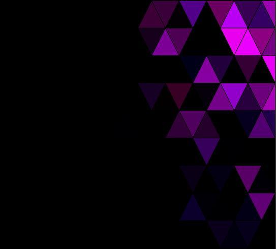 Paarse vierkante raster mozaïek achtergrond, creatief ontwerpsjablonen