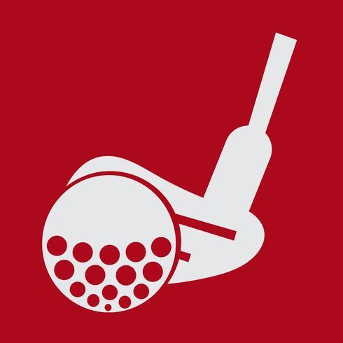 Signe symbole icône golf