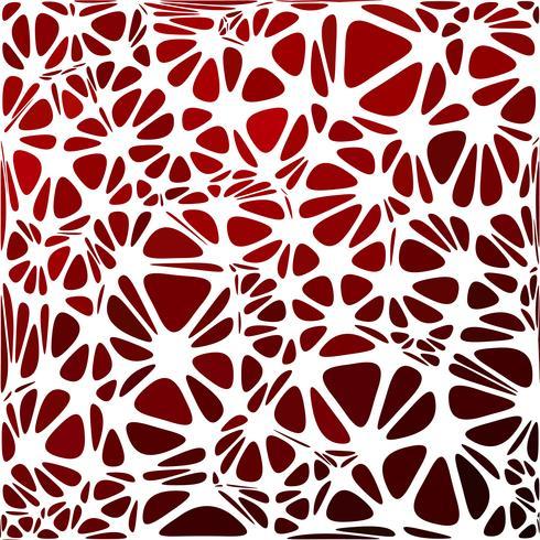 Style moderne rouge, modèles de conception créative