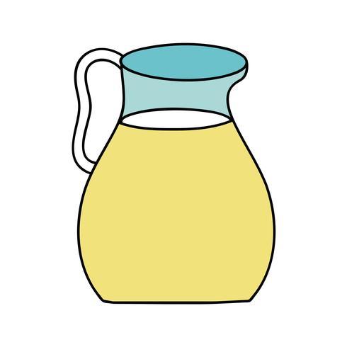 délicieux pot de jus nutrition boisson