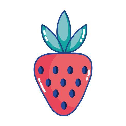delicioso morango frutas orgânicas