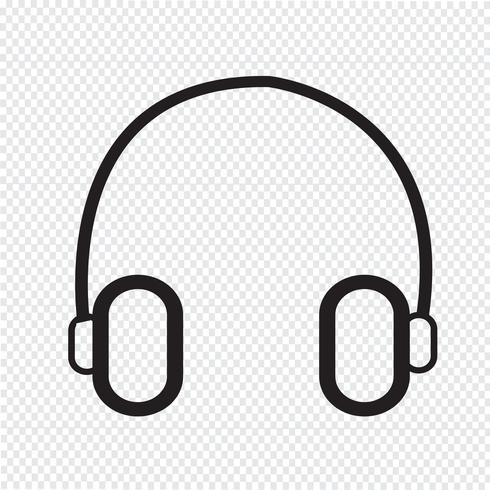 Kopfhörer Symbol Symbol Zeichen