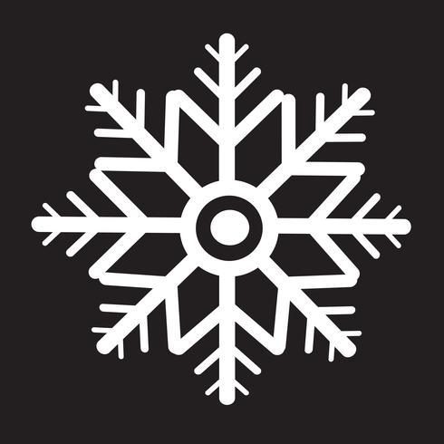 flocon de neige icône symbole signe