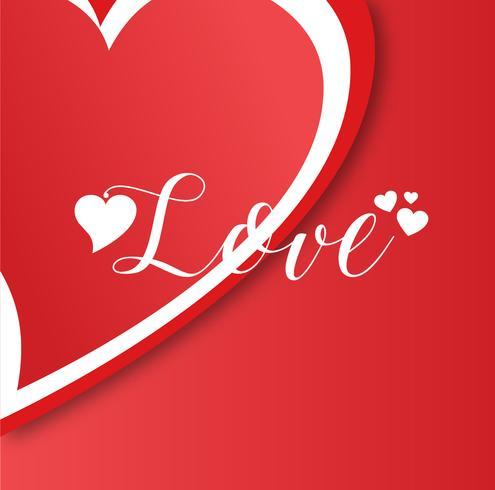 Kreativ minimal vektor png kärlek bakgrund