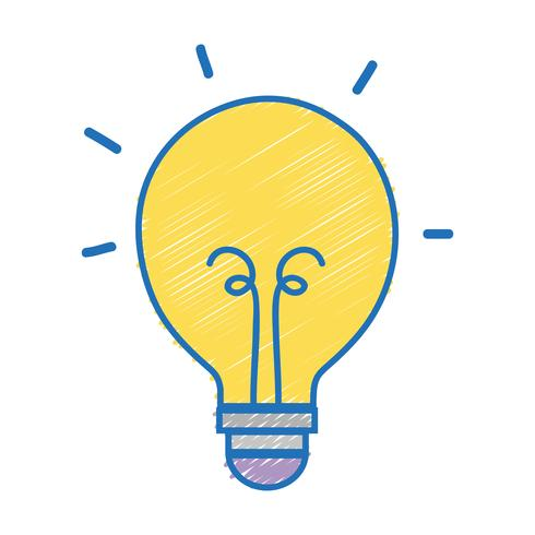 ícone de objeto de energia de lâmpada