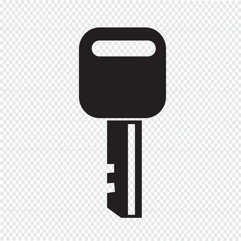 Key Icon  symbol sign