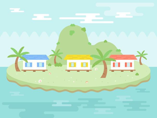 Summer Holiday, affiche Resort Island