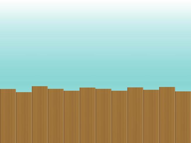 Fundo de verão, terraço de madeira ao lado do mar