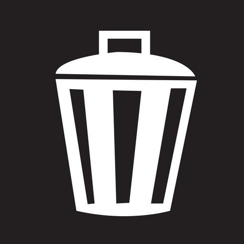 Icono de bin símbolo de signo