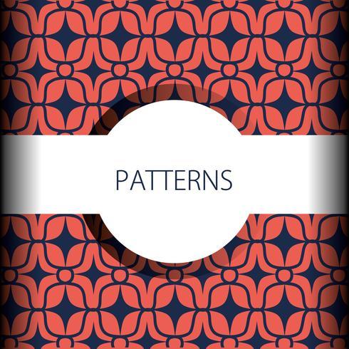 diseño abstracto sin fisuras patrón de fondo