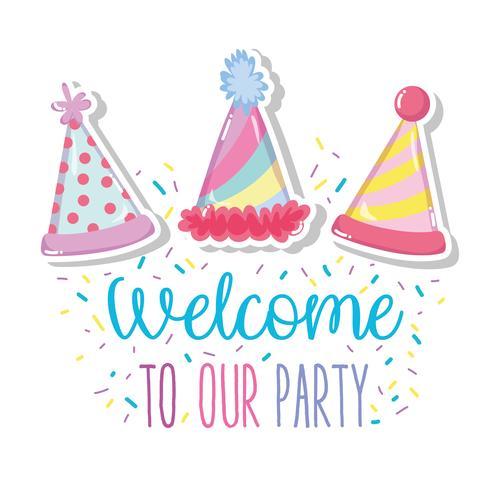 Bem-vindo à nossa festa