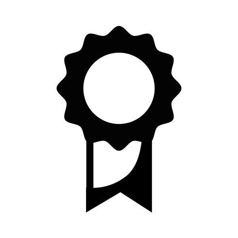 kontur skolmedalj symbol för intelligent student