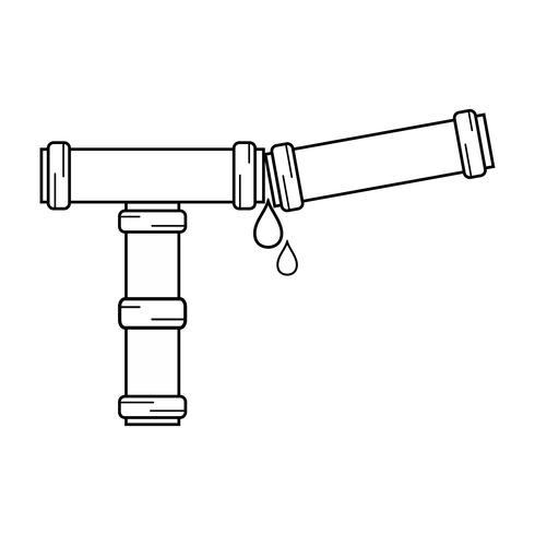 lijn sanitair buis reparatie apparatuur constructie