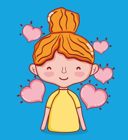Kinderen en dol op tekenfilms
