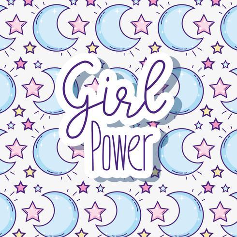 Fond de puissance femme