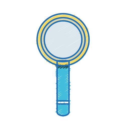 magnifying glass tool object design