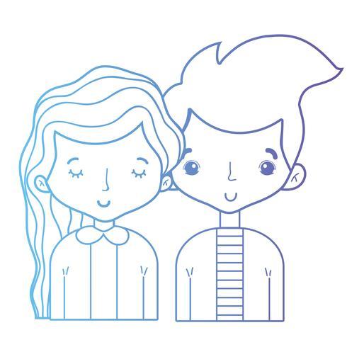 ligne beauté couple ainsi que la conception de coiffure