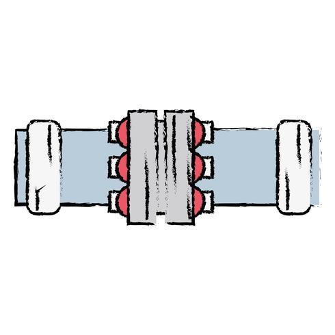 construction de matériel de réparation de tubes de plomberie