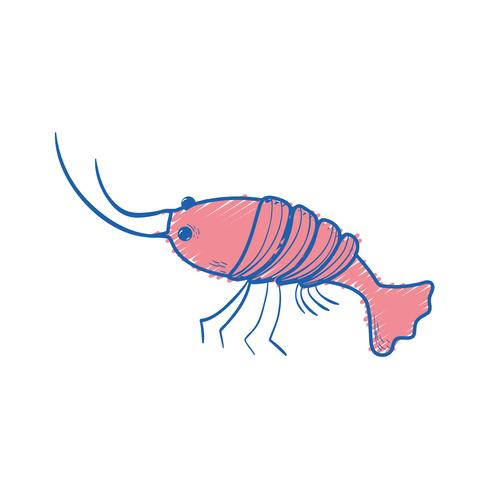 skaldjur hummer måltid med naturliga ingredienser
