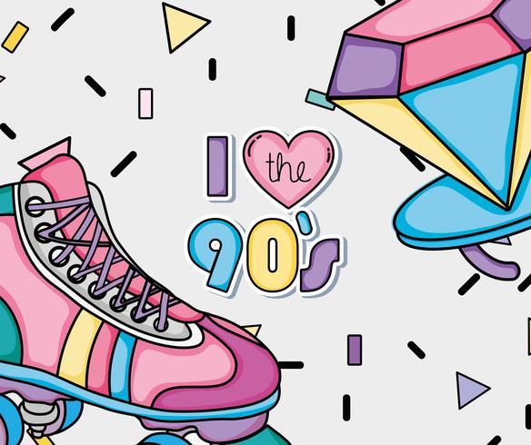 Amo i cartoni degli anni '90