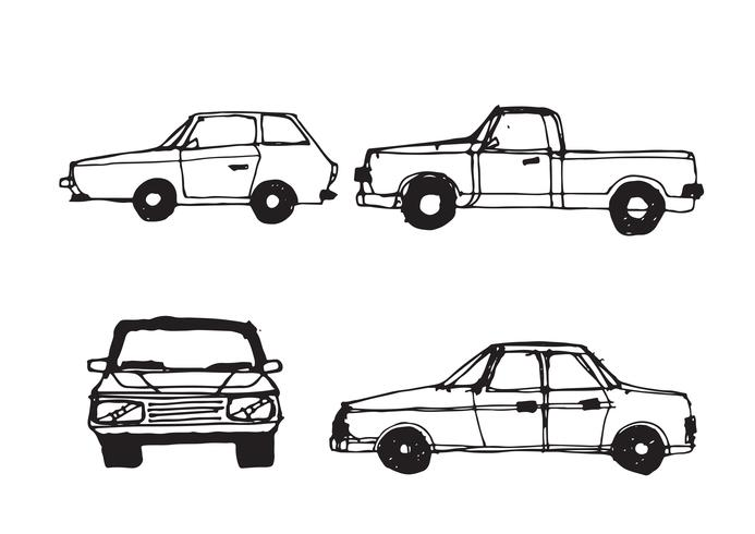 Car Sketch Symbol Sign