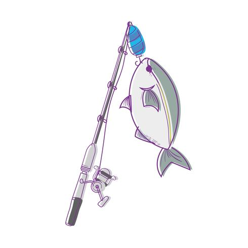 spincash haspel vangst het visvoer