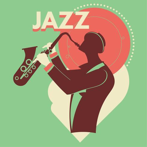 Abstrakte Jazzkunst für Plakat