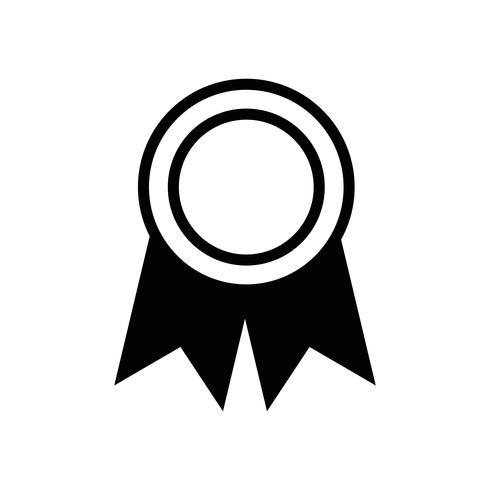 Kontur Schulmedaille Symbol für intelligente Schüler