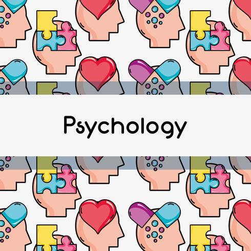 conception de fond d'analyse de traitement de psychologie