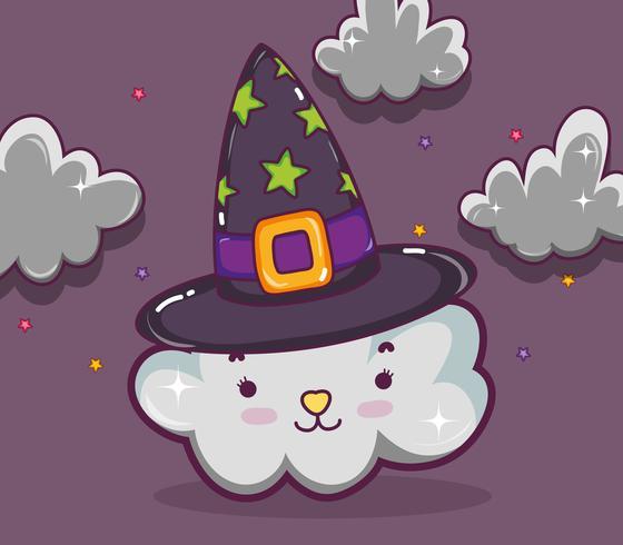 Fröhliche Halloween-Cartoons