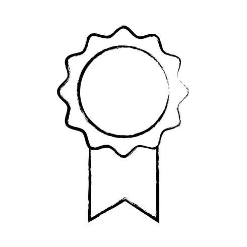 figure school medal symbol to intelligent student