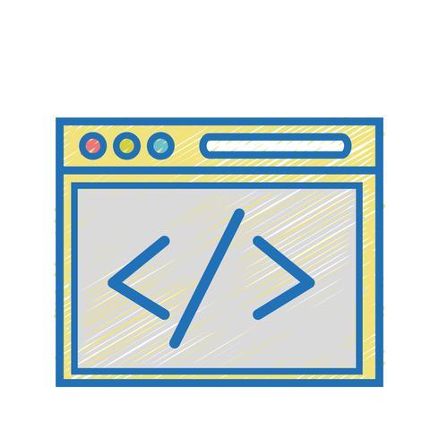 webbplatselementteknik för att söka sida vektor