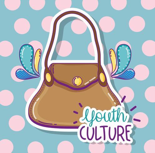 Dibujos animados de cultura juvenil