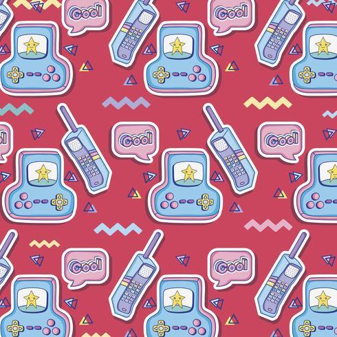 Pop art background cartoons vector