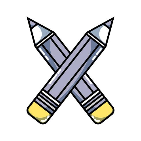 pencils colors school tool object design