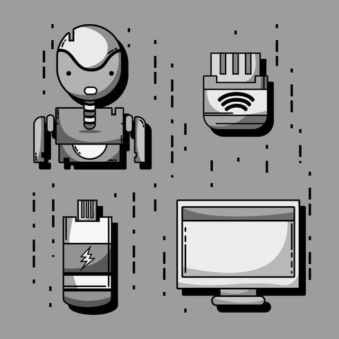 imposta la tecnologia patch dati informazioni