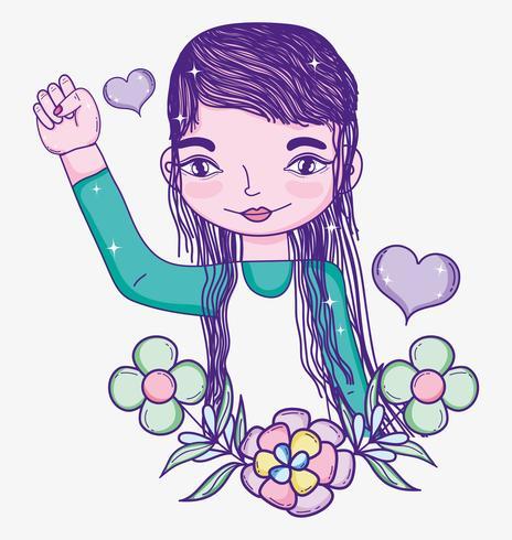 Dibujos animados del poder de las chicas