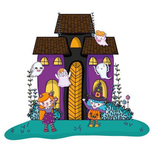 Halloween en kinderen cartoons