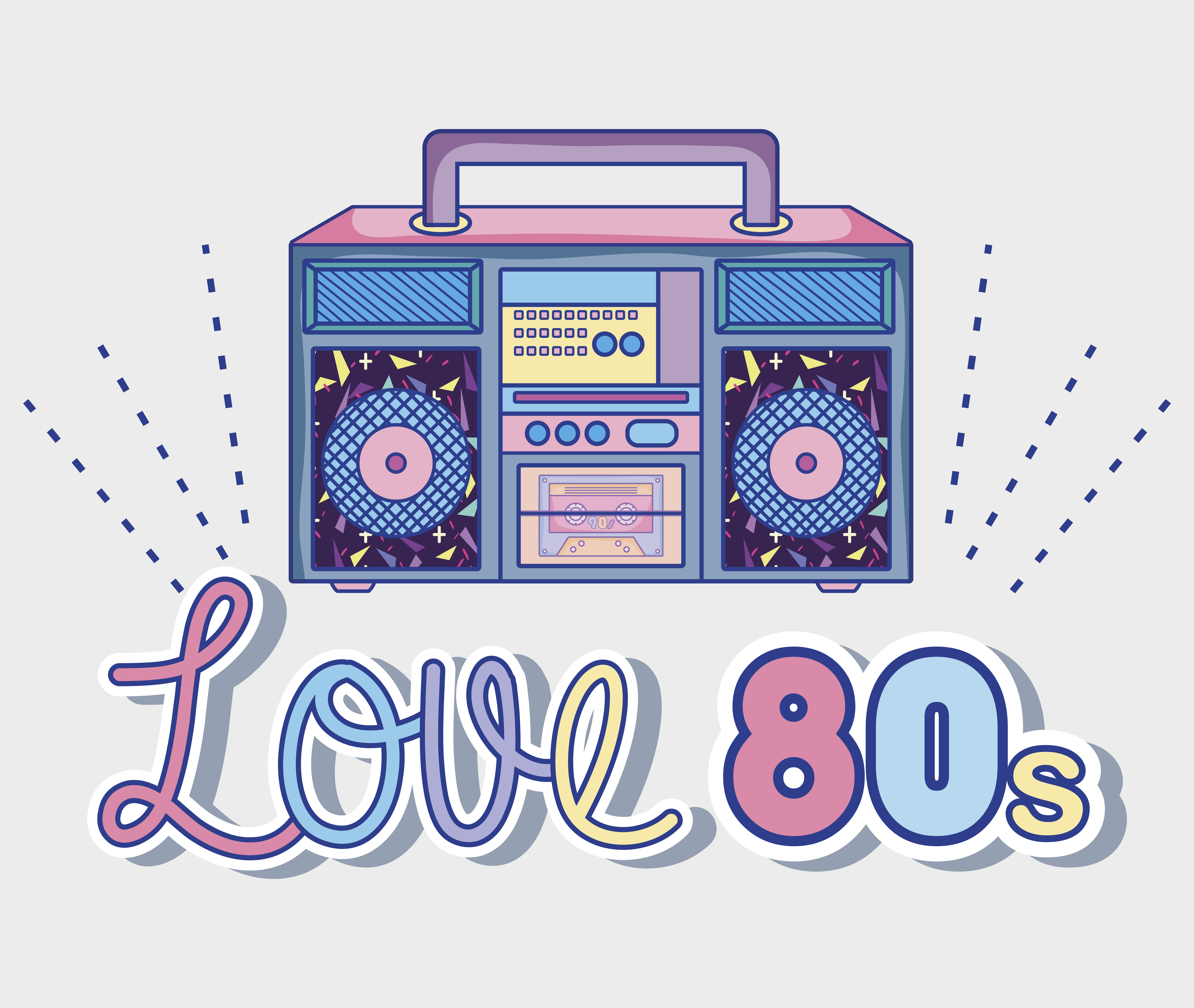 1665+ I Love The 80S Svg Free File