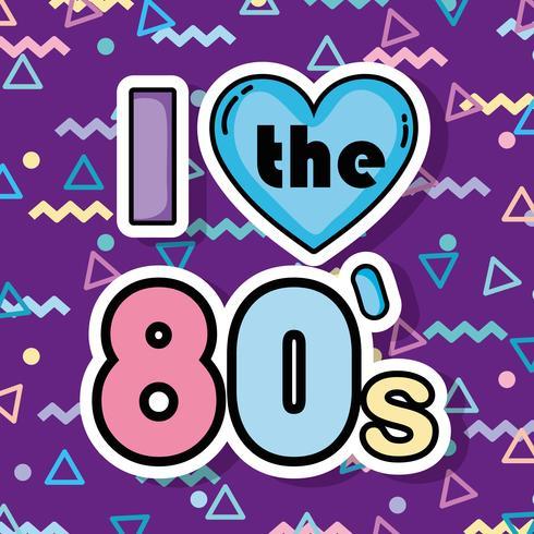 Amo gli anni '80