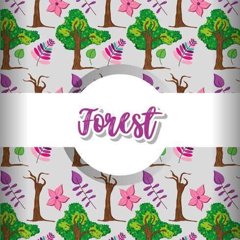 Priorità bassa del reticolo della foresta