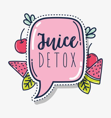 Fruit juice detox