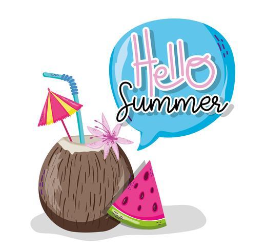 Hallo zomercartoons