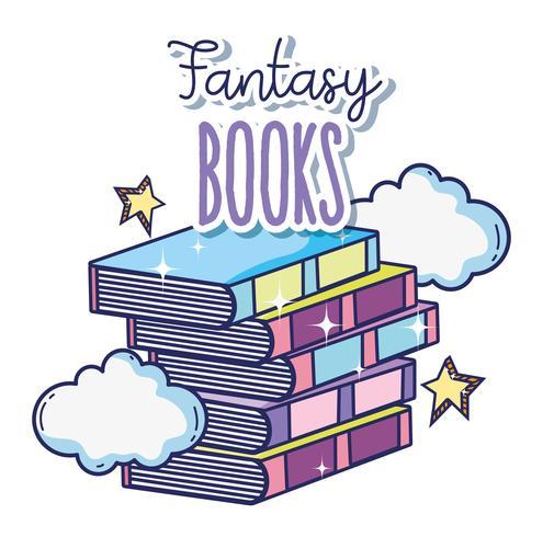 Livros de fantasia e magia