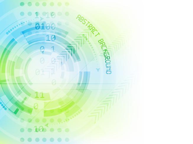 Fondo astratto di vettore di tecnologia futura