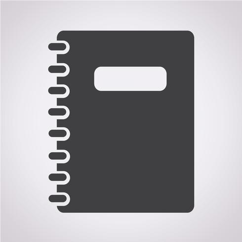 Notebook Symbol Symbol Zeichen