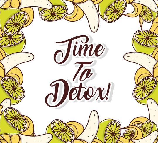 Tid till detox ram
