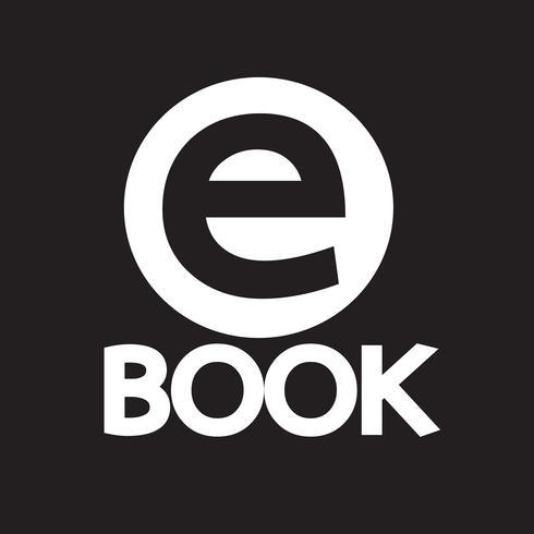 E-Book ícone símbolo sinal