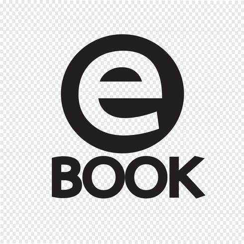 E-book, symbole, signe