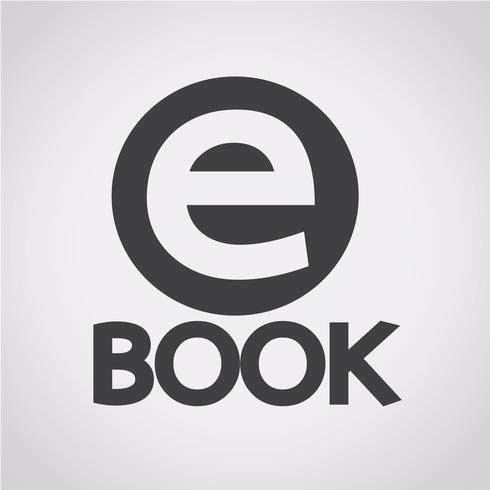 E-Book icon  symbol sign